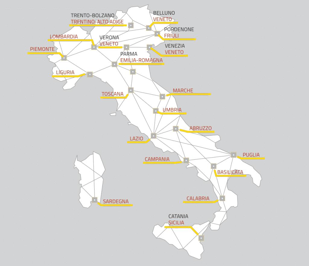 mappa digital innovation hub dove sono